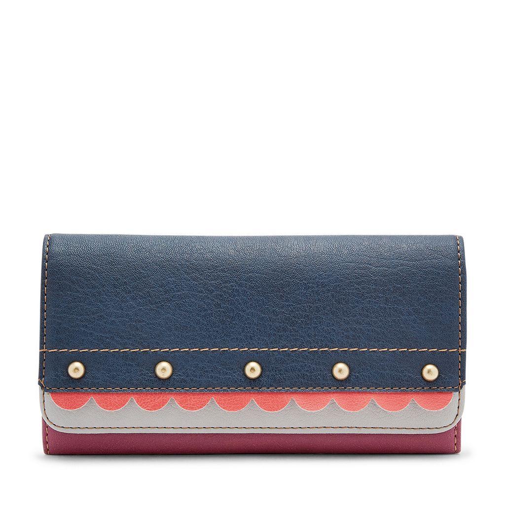 Relic Takeaway Scalloped Flap Checkbook Wallet