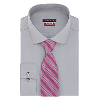 Men's Van Heusen Slim-Fit Flex Collar Dress Shirt & Tie