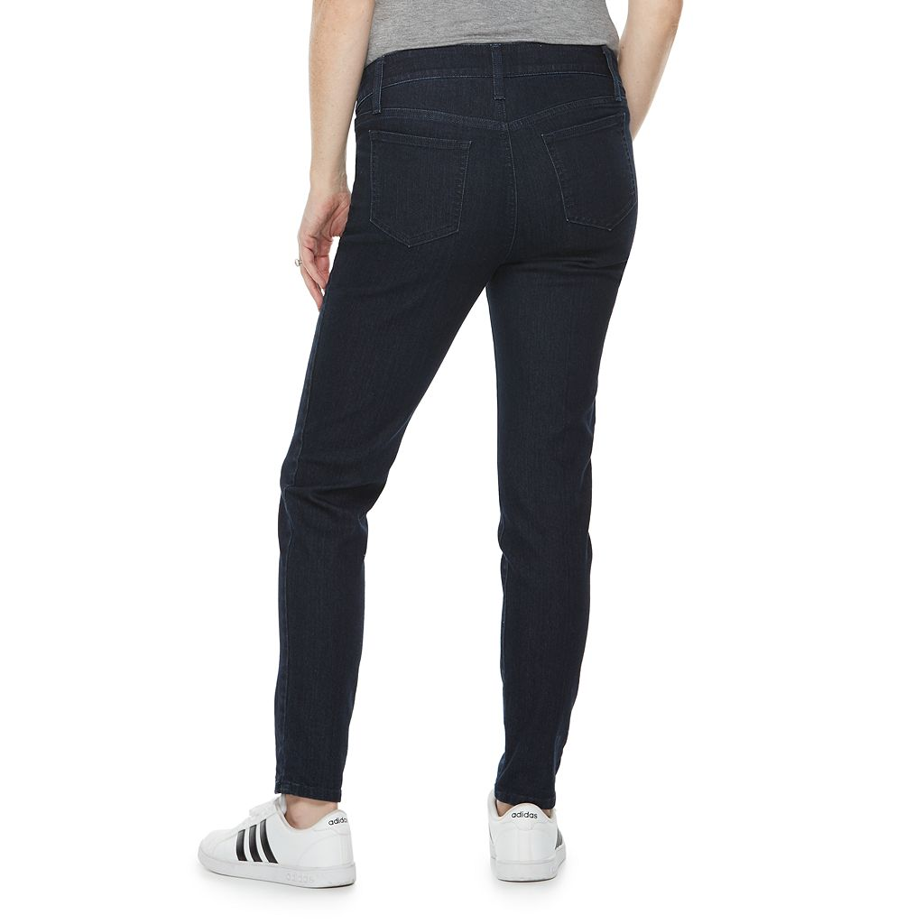 Maternity a:glow Inset Panel Skinny Jeans