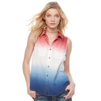 Women's Rock & Republic® Dip-Dye Tank
