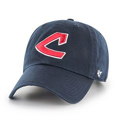 Adult '47 Brand Cleveland Indians Clean Up Adjustable Cap