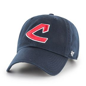 Adult '47 Brand Cleveland Indians Clean Up Adjustable Cap