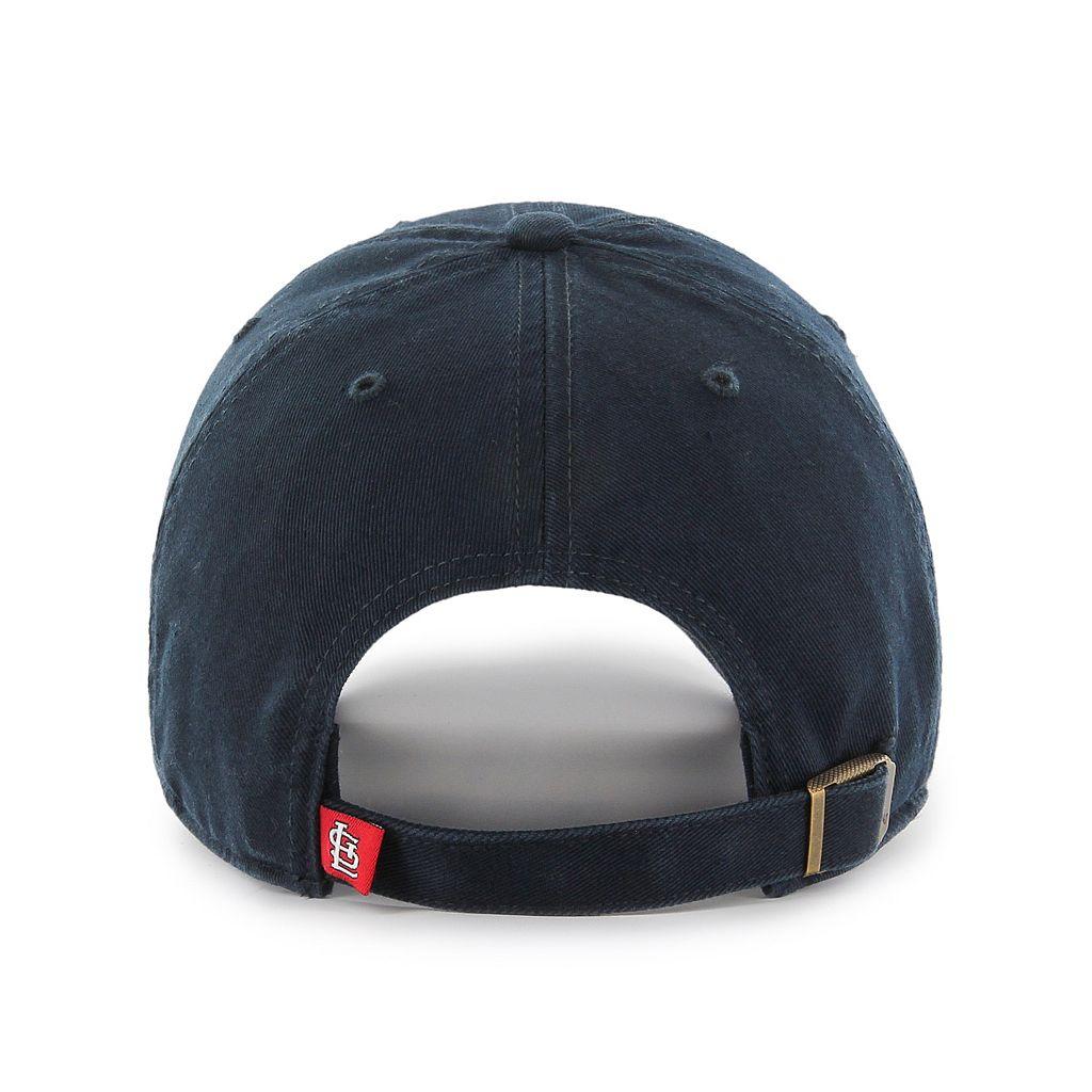 Adult '47 Brand St. Louis Cardinals Clean Up Adjustable Cap