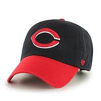 Adult '47 Brand Cincinnati Reds Clean Up Adjustable Cap