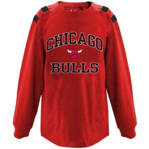 Big & Tall Majestic Chicago Bulls Shoulder Panel Tee
