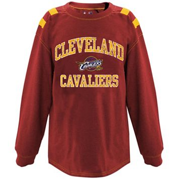 Big & Tall Majestic Cleveland Cavaliers Shoulder Panel Tee