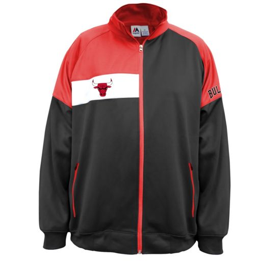 Boys 8-20 Majestic Chicago Bulls Track Jacket