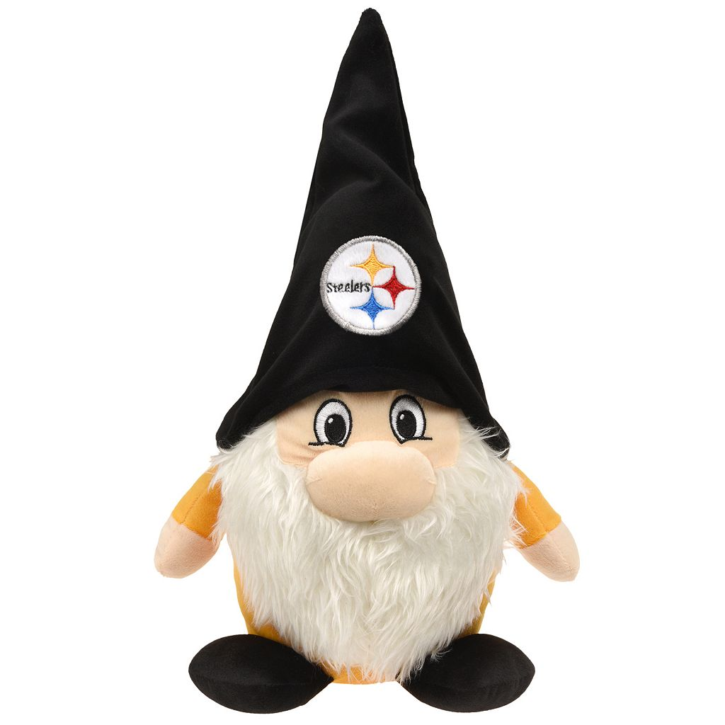 Forever Collectibles Pittsburgh Steelers Plush Team Gnome