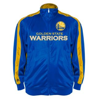 Big & Tall Majestic Golden State Warriors Reflective Track Jacket