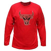 Big & Tall Majestic Chicago Bulls Reflective Logo Tee