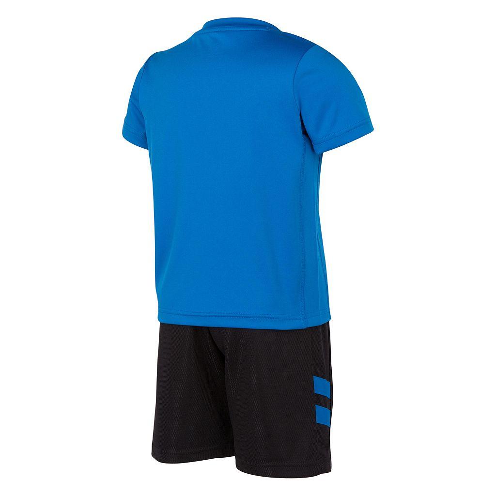 Boys 4-7 New Balance Sports Graphic Tee & Shorts Set
