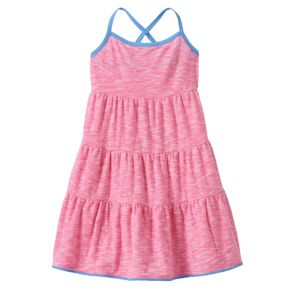 Baby Girl Jumping Beans® Striped Tiered Dress