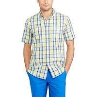 Men's Chaps Classic-Fit Plaid Poplin Easy-Care Button-Down Shirt