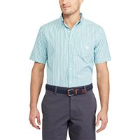 Men's Chaps Classic-Fit Striped Easy-Care Button-Down Shirt