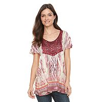 Women's World Unity Crochet Tee