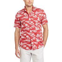 Men's Chaps Classic-Fit Tropical Button-Down Shirt