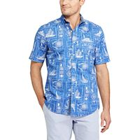 Men's Chaps Classic-Fit Tropical Button-Down Shirt