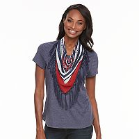 Women's World Unity Scarf Tee