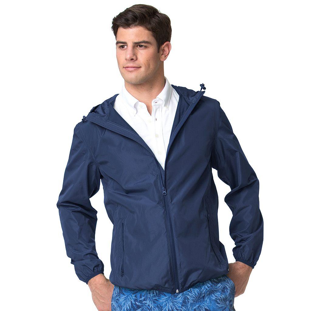 Men's Chaps Classic-Fit Packable Jacket