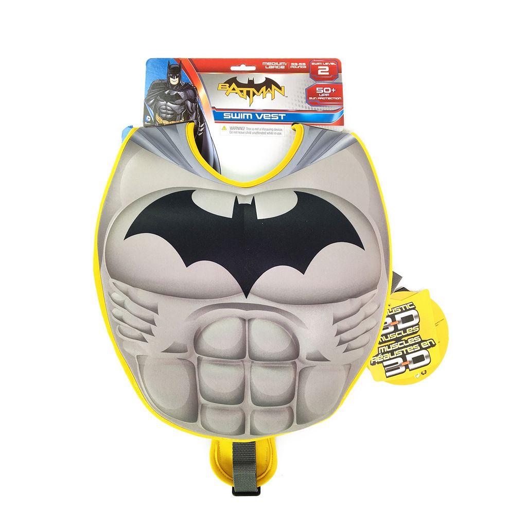 Justice League Batman 3D Muscle Swim Vest