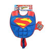 Justice League Superman 3D Muscle Swim Vest