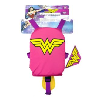 Justice League Wonder Woman 3D Muscle Swim Vest