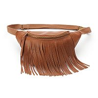 Mudd® Fringed Fanny Pack