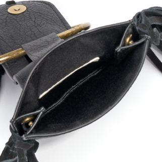 Mudd® Studded Cell Phone Crossbody Bag
