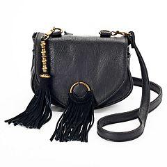 Mudd® Fringe Crossbody Bag