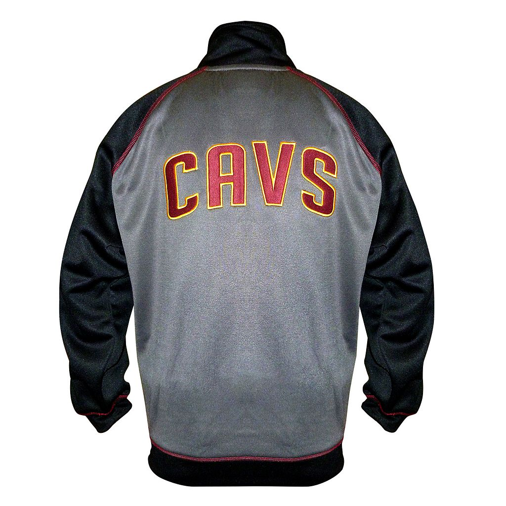 Boys 8-20 Majestic Cleveland Cavaliers Fleece Track Jacket