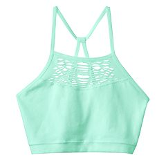 Girls 7-16 Maidenform Seamless High-Neck Bralette