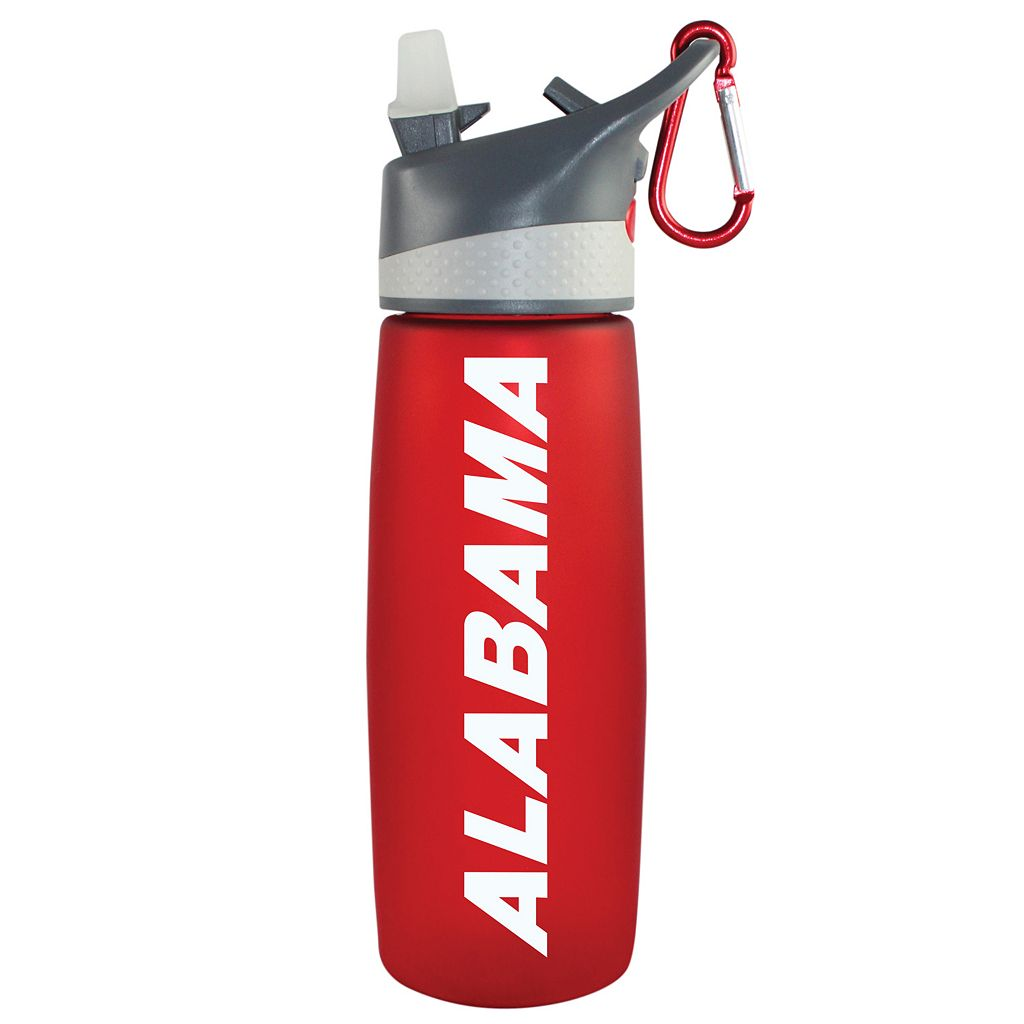 Alabama Crimson Tide Frosted Water Bottle