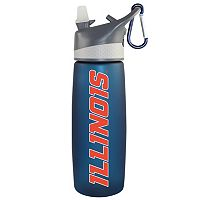 Illinois Fighting Illini Frosted Water Bottle