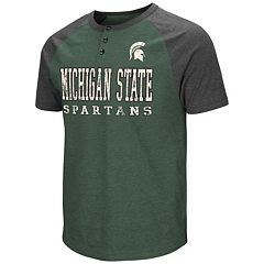 Men's Campus Heritage Michigan State Spartans Spotter Henley