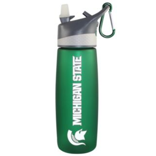 Michigan State Spartans Frosted Water Bottle