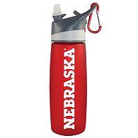 Nebraska Cornhuskers Frosted Water Bottle