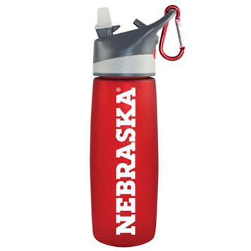 Nebraska Cornhuskers Frosted Water Bottle
