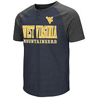 Men's Campus Heritage West Virginia Mountaineers Spotter Henley