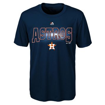 Boys 8-20 Majestic Houston Astros Light Up the Field Cool Base Tee