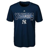 Boys 8-20 Majestic New York Yankees Light Up the Field Cool Base Tee