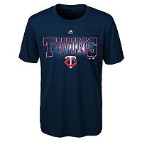 Boys 8-20 Majestic Minnesota Twins Light Up the Field Cool Base Tee