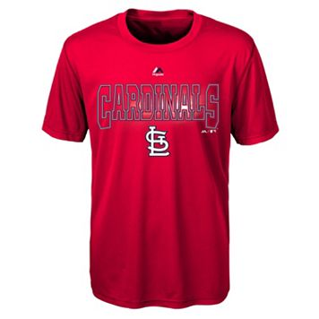 Boys 8-20 Majestic St. Louis Cardinals Light Up the Field Cool Base Tee