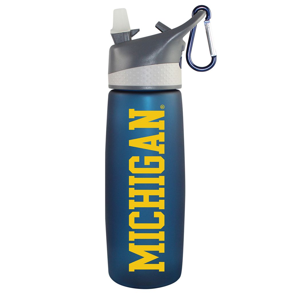Michigan Wolverines Frosted Water Bottle