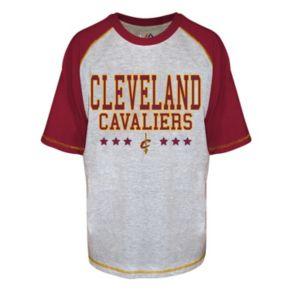 Boys 8-20 Majestic Cleveland Cavaliers Raglan Tee
