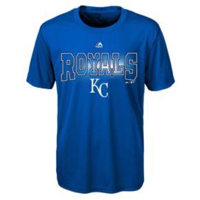 Boys 8-20 Majestic Kansas City Royals Light Up the Field Cool Base Tee