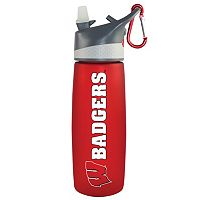 Wisconsin Badgers Frosted Water Bottle