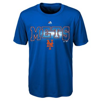 Boys 8-20 Majestic New York Mets Light Up the Field Cool Base Tee