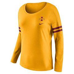 Women's Nike Iowa State Cyclones Tailgate Long-Sleeve Tee