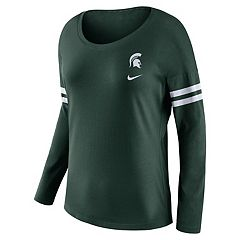 Women's Nike Michigan State Spartans Tailgate Long-Sleeve Tee