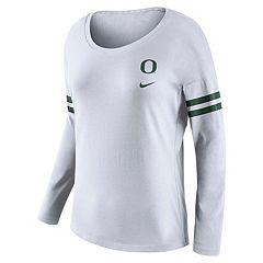 Women's Nike Oregon Ducks Tailgate Long-Sleeve Tee